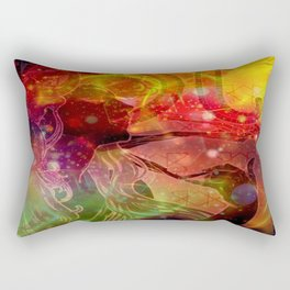 The purpose is the way itself. Take pleasure now. The eternity is here!! Rectangular Pillow