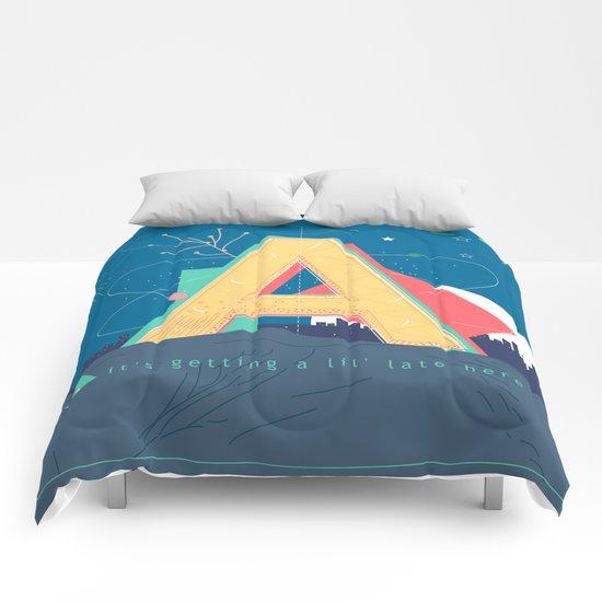 Alphabet A Comforters