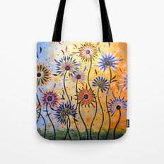 Explosion of Joy Tote Bag