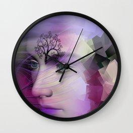 leave the broken dreams behind Wall Clock