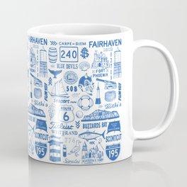 Fairhaven Massachusetts Print Coffee Mug