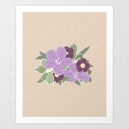 Floral Arrangements 17 Art Print