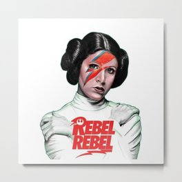 Rebel Ziggy Metal Print