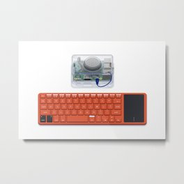 Kano Computer Kit Metal Print