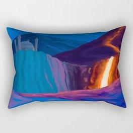 Fantasy Landscape 01 Rectangular Pillow