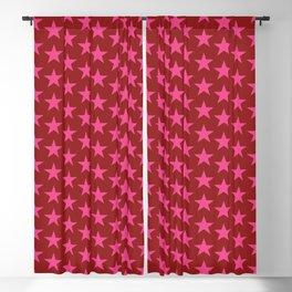 Stars Pattern 37 Blackout Curtain