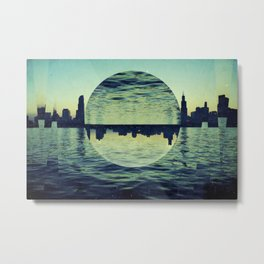 Chicago I Metal Print