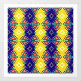 Indian Designs 37 Art Print