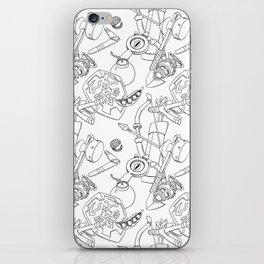 Ocarina Patterns iPhone Skin