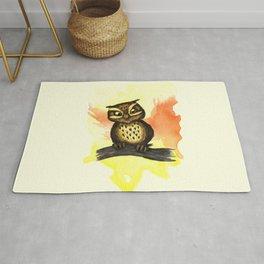 Cute owl. Rug
