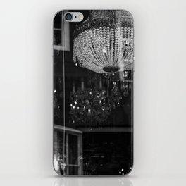 Silhouettes Mingle iPhone Skin