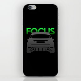 Ford Focus RS iPhone Skin