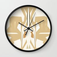 trumpet Wall Clocks featuring Trumpet by Warfield