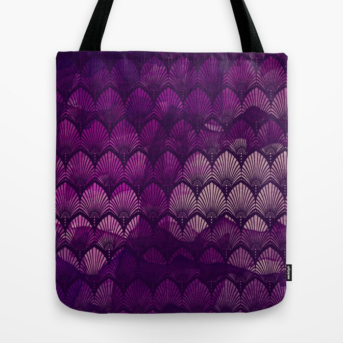 Variations on a Feather II - Purple Haze  Tote Bag