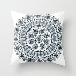Awaken Nature Mandala Throw Pillow