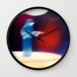 """Help Me, Obi-Wan Kenobi. You're My Only Hope..."" Wall Clock"