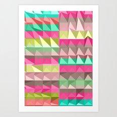 Pyramid Scheme Art Print