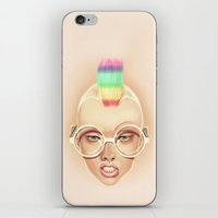 rainbow iPhone & iPod Skins featuring Rainbow by Giulio Rossi