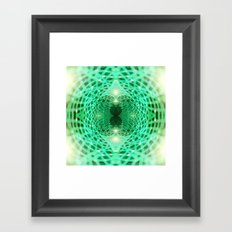Geometry Dreams : Eternity Framed Art Print