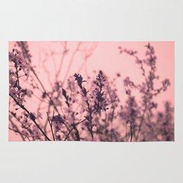 Cherry Blossom Flowers Rug