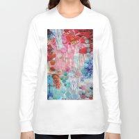 rain Long Sleeve T-shirts featuring Rain by John Turck