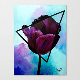 Dark Tulip Canvas Print