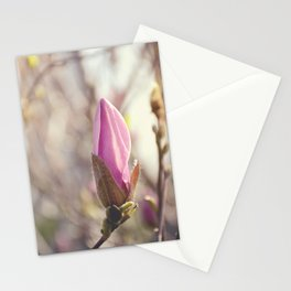AFE Pink Magnolia Stationery Cards