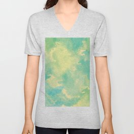 Abstract 42 Unisex V-Neck