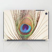 peacock iPad Cases featuring Peacock by Laura Ruth