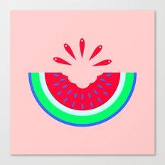 Super Fresh Watermelon Canvas Print