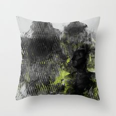 Polar Opposite Throw Pillow