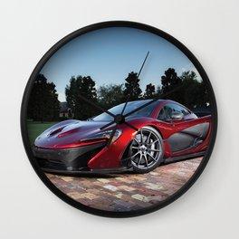 Mclaren Supercar Wall Clock