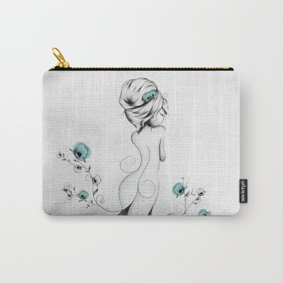 Poppy Poem Carry-All Pouch