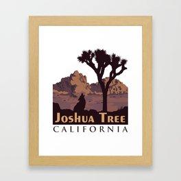 Joshua Tree National Park. Framed Art Print