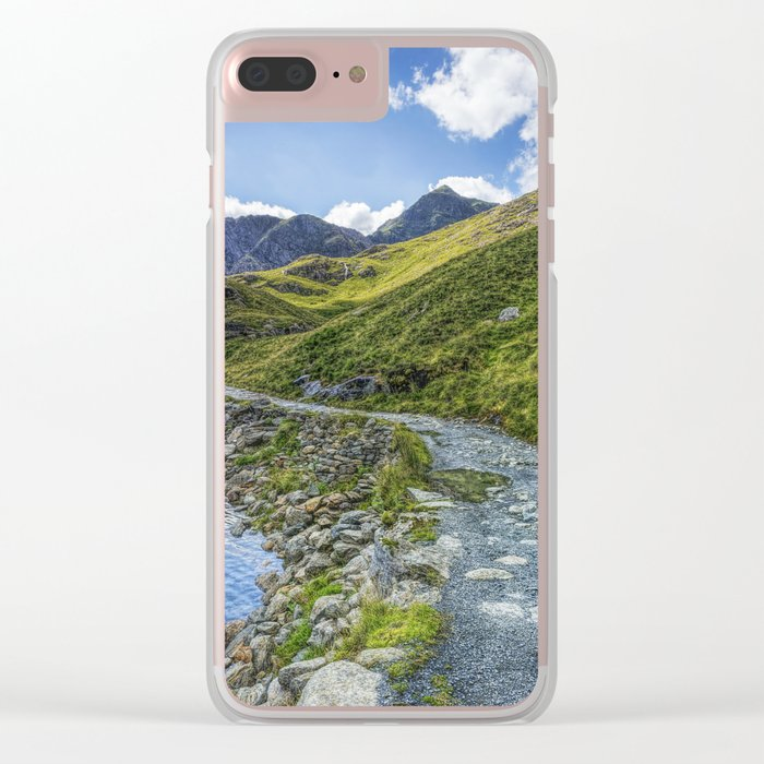 Path To Snowdon Clear iPhone Case