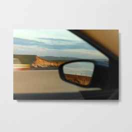 Mountains and Mirrors Metal Print