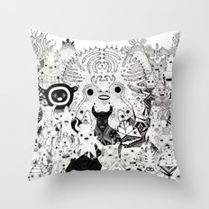 Skool Daze ii Throw Pillow