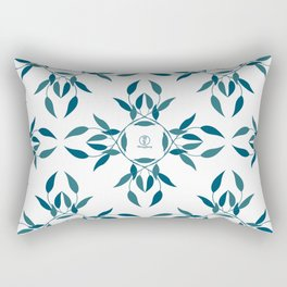 Tea leaf pattern by MerryYoung Rectangular Pillow