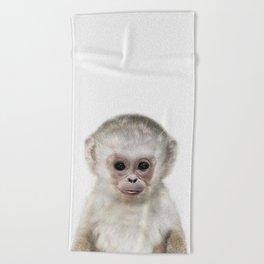 Baby Monkey Beach Towel