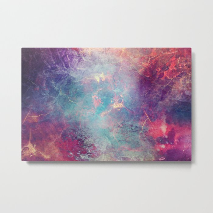 COLD-BLOODED Metal Print