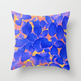 Supercontrast #painting #nature Throw Pillow