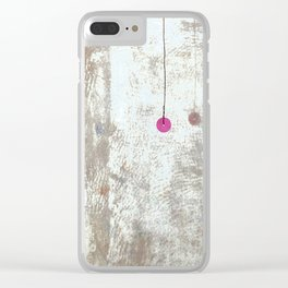 Looking in Mirror by Annalisa Ramodino Clear iPhone Case