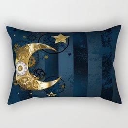 Mechanical Moon Rectangular Pillow