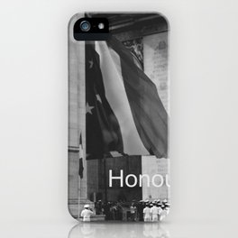 Honour iPhone Case
