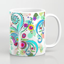 Crayon Love: Squid Coffee Mug