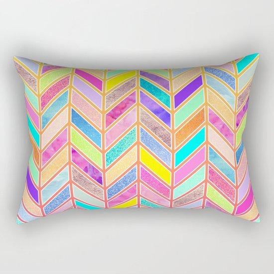 Colors Everywhere Rectangular Pillow