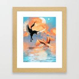 Pegasus Dreamscape Framed Art Print