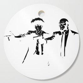 Cowboy Bebop - Spike Jet Knockout Black Cutting Board