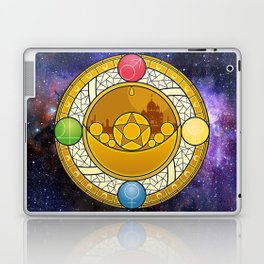 Sailor Moon Crystal stained glass window Transformation Brooch Laptop & iPad Skin