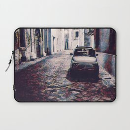 Classic Car in Back Street of Italy Laptop Sleeve